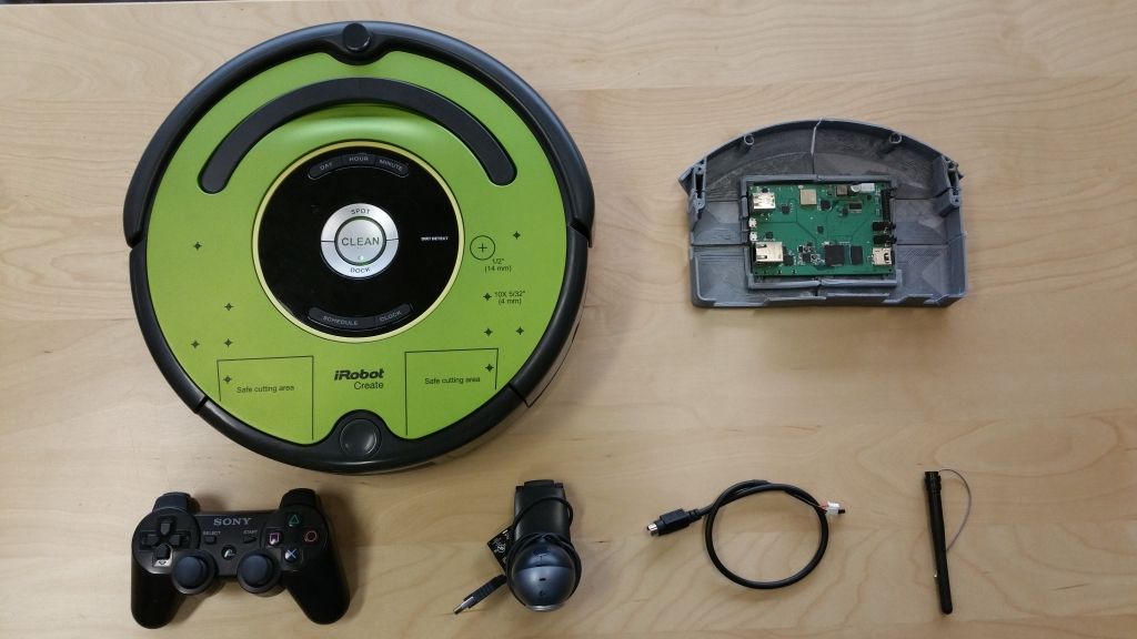 iRobot Create 2 Tutorial Components