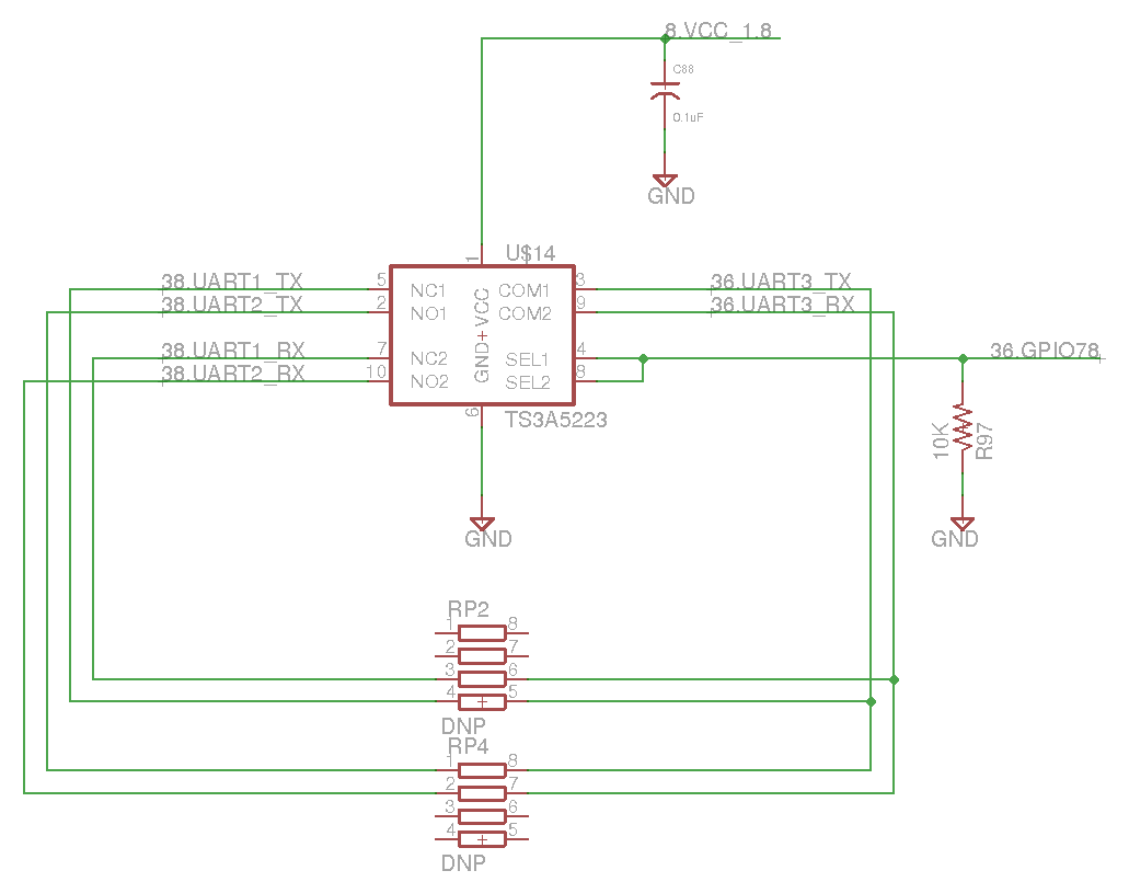 Level Shifter for the Overo UART header on AC2