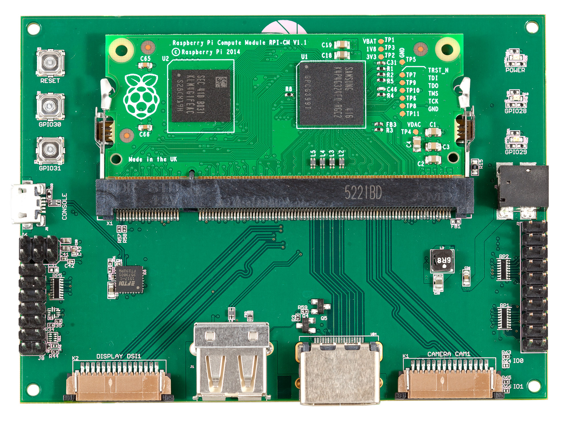 Geppetto Pi Compute Dev Board