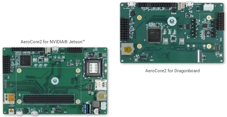 AeroCore2 for Dragonboard and NVIDIA Jetson