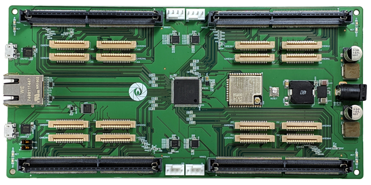 Jetson Snapshot board for image processing embedded systems