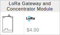 LoRa® Gateway Module in Geppetto