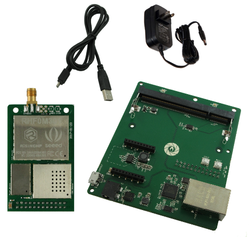 Gumstix LoRa Raspberry Pi Kit