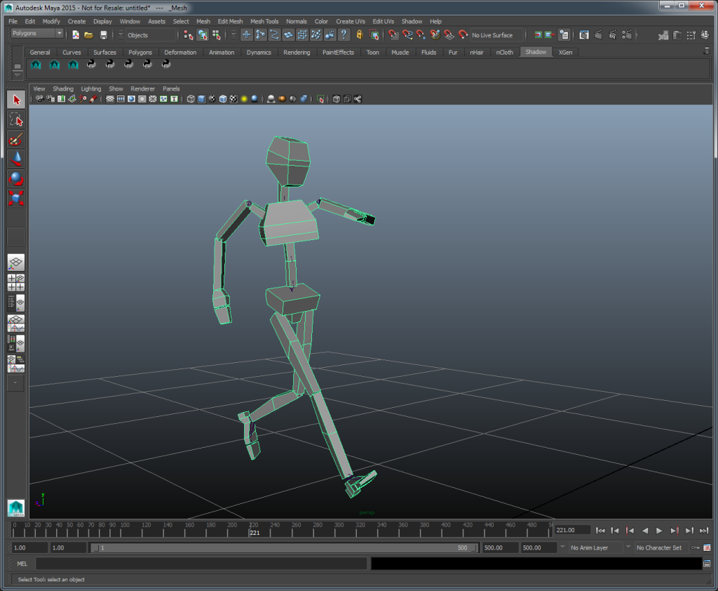 Shadow Motion Capture software