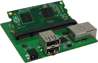 Raspberry Pi USB Ethernet Board