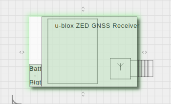u-blox ZED GNSS Receiver in Geppetto