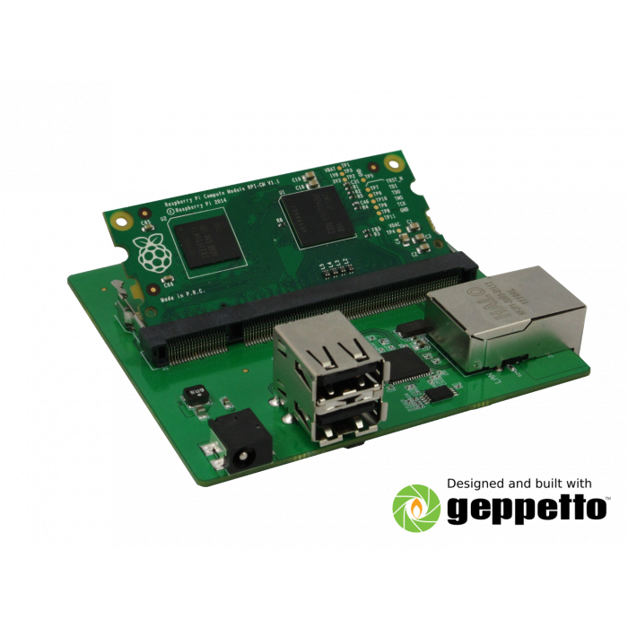Gumstix Pi Compute USB-Ethernet